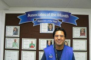 INALLIANCE participant Marcelo receives employee of the year at Walmart